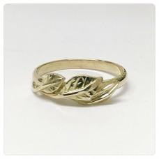 Opdracht: Ring met bladeren